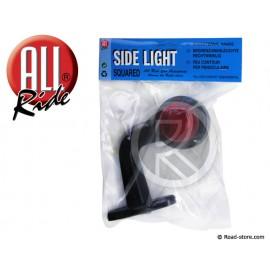 Stalk side marker lamp 13cm 12/24V DC