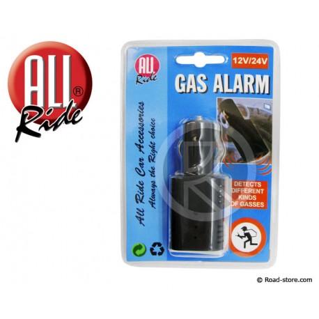 Schlafgas Melder Alarm 12/24V