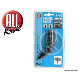 Adapter socket 12/24V max 8A