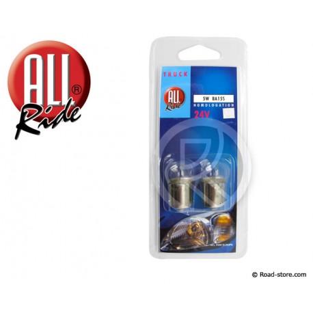 Bulb BA15S 5W 24V 1 PLOT BLISTER  X2