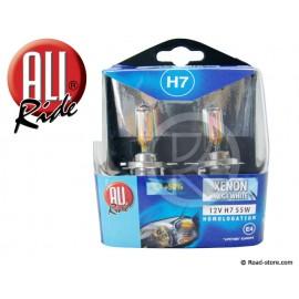 """Box Bulb H7 12V 55W """"XENON MEGA WHITE"""" X 2"""