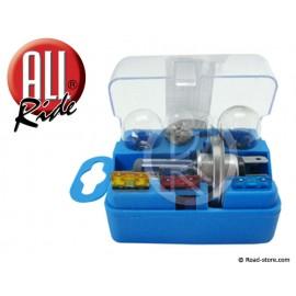 Spar bulbs H4 12V 5 bulbs + 3 fuses
