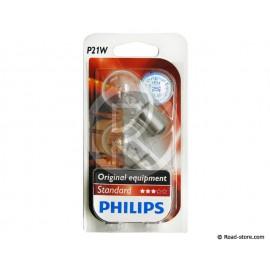 Bulb BA15S 24V 21W x2 Philips