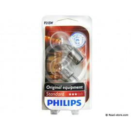 AMPOULE POIRETTE BAY15D 24V 21/5W x2 (PHILIPS)
