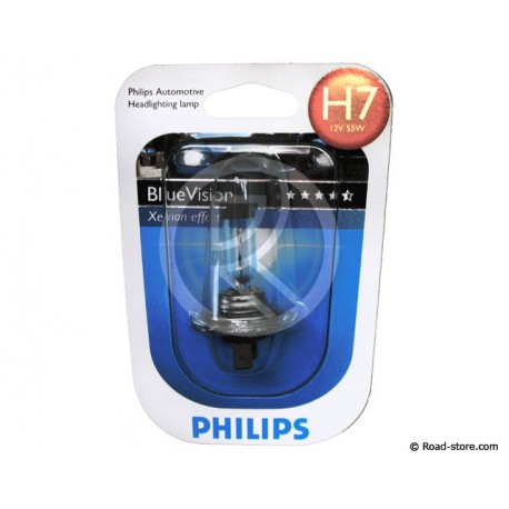 Glühlampe H7 12V 55W XENON BLUE VISION (PHILIPS)