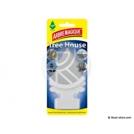 ARBRE MAGIQUE TREE HOUSE SUPPORT ADHESIF POUR DESODO TRANSPARENT