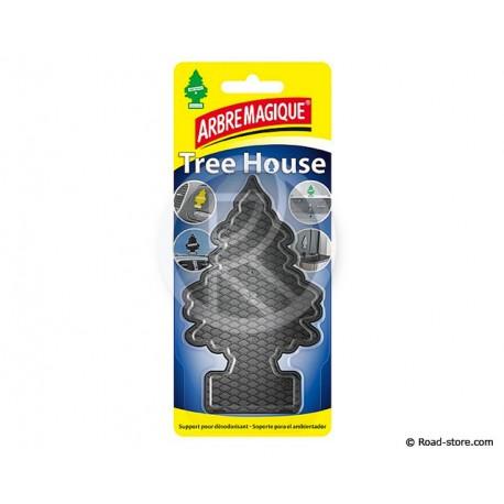 ARBRE MAGIQUE TREE HOUSE SUPPORT ADHESIF POUR DESODO NOIR