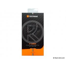 TETRAX PORTE-TELEPHONE MAGNETIQUE CARBON X2