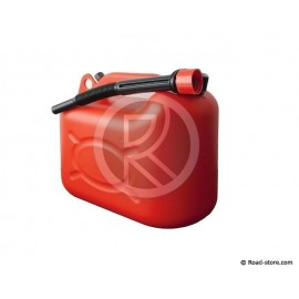 Jerrycan hydrocarbon  10L Red
