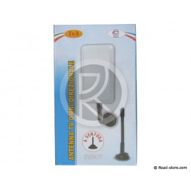 TV Antenna omnidirectionalwith suction cup 12/24V