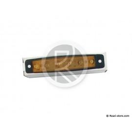 FEU GABARIT EXTRA PLAT 6 LEDS 24V ORANGE 96x20x6,4mm (dans boite)
