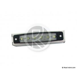 FEU GABARIT EXTRA PLAT 6 LEDS 24V BLANC 96x20x6,4mm (dans boite)