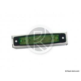 FEU GABARIT EXTRA PLAT 6 LEDS 24V VERT 96x20x6,4mm (dans boite)