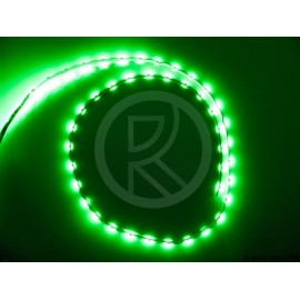 Led flexible strip adh. 54 leds 90cm 12V green