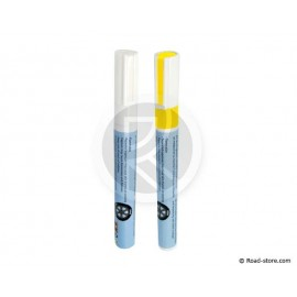 MARKING PEN TIRES Yellow x1 + White x1