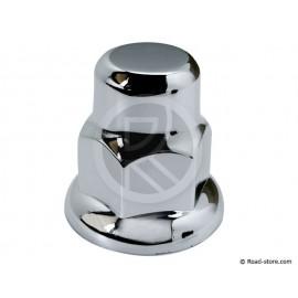 Radmutterkappen Chrom 33MM (blister 10 Stück)