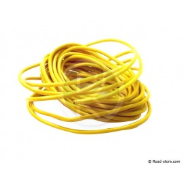 Electric cable yellow 1,5 mm 5meters