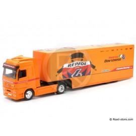 Truck scale models 1:43 Mercedes Actros Repsol Honda Team 2010