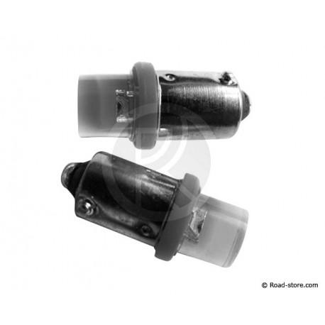 AMPOULE 1 LED BA9S 24V BLANCHE X2