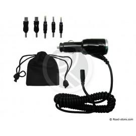 GPS Charger 12/24V 3 Ports / 2 MINI USB