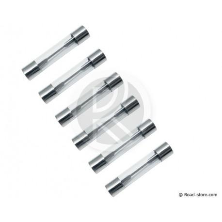 Glas-Sicherungen - 2 bis 25 Ampere