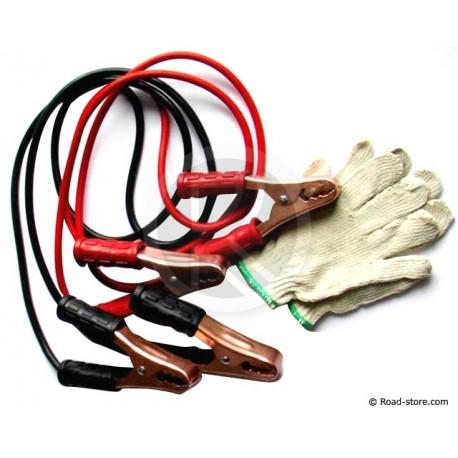 Starthilfekabel 500Amp + Handshuhe