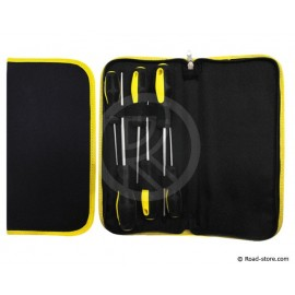 6 Screwdrivers + Storage Pouch