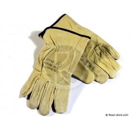 Lederhandschuhe Größe 10