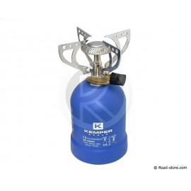 RECHAUD GAZ CAMPING 4 BRAS DE SUPPORT
