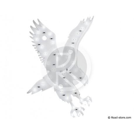 Dekoration Adler LEDS 12V Weiß