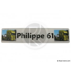 Plate Plexiglas Personalisierbar Text/Pictures
