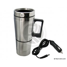 Electric mug + stainless steel cup 24V