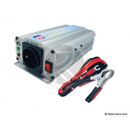 Converter 24V/230V/600W DC/AC + PORT USB