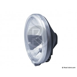 Headlight long range white with crown 24V H1 70W