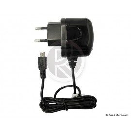 CHARGEUR 220V SMARTPHONES MICRO USB 2100mA CHARGE RAPIDE