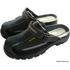 Safety Sandals Black Size 44