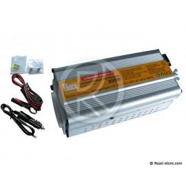 CONVERTISSEUR 300W 24V/230V DC/AC (PRISE NF) + PORT USB 5V PRIM'TRUCK