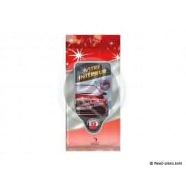 LINGETTES POUR VITRES PACK DE 15 Vanille (Anti-traces / Anti-Bue)