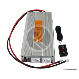 CONVERTISSEUR 1500W 24V/230V DC/AC (PRISE NF) PRIM'TRUCK