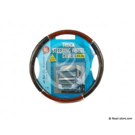 "Truck steering wheel cover 44-46 ""new design"" Imitation Burr Walnut"