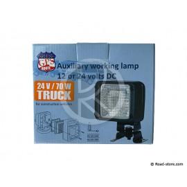 LAMPE DE TRAVAIL AUXILIAIRE 12 OU 24V AVEC AMPOULE