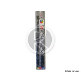 BARRE LUMINEUSE 60CM 12 LEDS 12/24V MULTICOULEURS