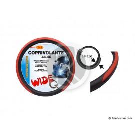 COUVRE-VOLANT PVC 44-46 LARGE 10CM ROUGE