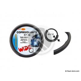 COUVRE-VOLANT PVC 47-48 LARGE 10CM GRIS