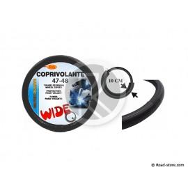 COUVRE-VOLANT PVC 47-48 LARGE 10CM NOIR