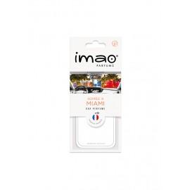 IMAO CARTE PARFUMEE  SOIREE A MIAMI (Blanc)